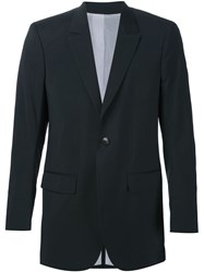 Thamanyah One Button Blazer Black