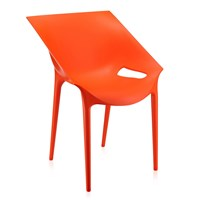 Kartell Dr. Yes Chair Orange Red