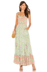 Spell And The Gypsy Collective City Lights Strappy Maxi Sage
