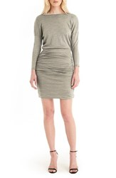 Michael Stars Women's Shirred Dolman Sleeve Dress Lurex