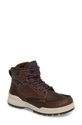 Ecco Women's Track 25 Gore Tex Waterproof Hiking Boot Cocoa Brown Leather