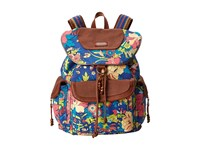 Sakroots Artist Circle Flap Backpack Royal Flower Power Backpack Bags Multi