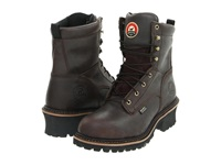 Irish Setter 83808 8 Steel Toe Waterproof Logger Brown Men's Work Boots