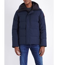 Canada Goose Macmillan Quilted Shell Parka Ink Blue