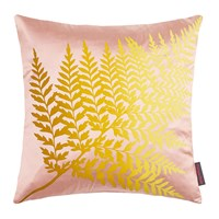 Clarissa Hulse Fern Ombre Cushion 45X45cm Oyster Quince