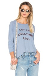 Mate The Label Chill Times Roll Rowe Raglan Blue