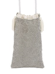 Ca And Lou Micro Ballerina Darling Crystal Pouch