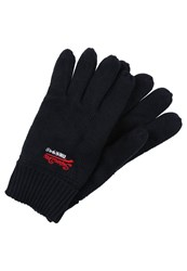 Superdry Orange Label Gloves True Track Navy Dark Blue