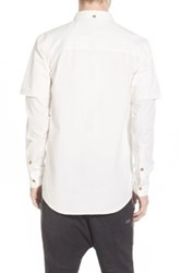Thing Thing The Cmnd Long Sleeve Shirt White