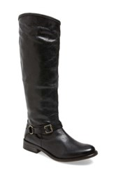Hinge 'Dakotah' Knee High Riding Boot Women Black