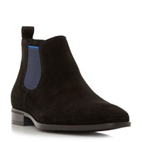 Dune Maritime Colour Pop Chelsea Boot Black
