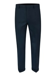 Topman Green Teal Skinny Fit Suit Pants