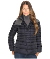 Duvetica Ainslee Quilted Down Jacket Blue Navy Women's Coat