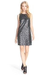 Women's Milly Sequin A Line Racerback Sheath Dress