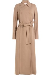 Nina Ricci Wool Trench Coat Beige