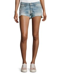Rag And Bone Cut Off Shorts La Quinta Blue Light