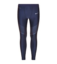 Nike Power Speed Running Tights Male Navy