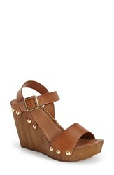 Women's Topshop 'Waterfall' Wedge Sandal 4' Heel