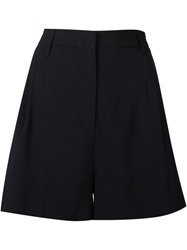 Victoria Victoria Beckham High Waisted Shorts Blue