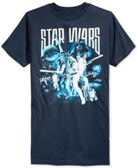 Fifth Sun Men's Star Wars Print T Shirt From Navy Heather