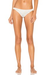Lovers Friends Simone Thong White