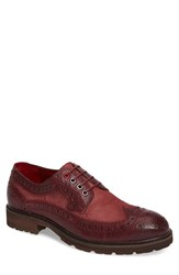 Jump Men's Bleecker Spectator Shoe Burgundy