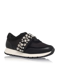 Kg By Kurt Geiger Lovely Embellished Sneakers Female Black