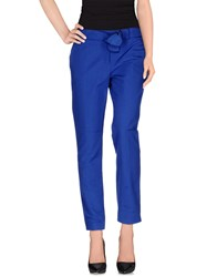 Red Valentino Redvalentino Trousers Casual Trousers Women Blue