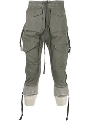 Greg Lauren Drop Crotch Trousers 60