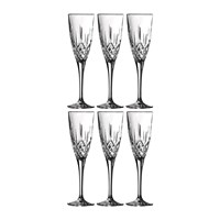 Royal Doulton Earlswood Champagne Flute Set Of 6
