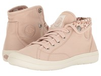 Palladium Aventure Rose Dust Marshmallow Tulip Print Women's Lace Up Casual Shoes Pink