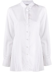 Each X Other Pleated Detail Distressed Shirt 60