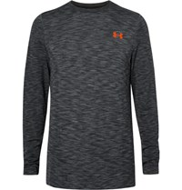 Under Armour Threadborne Seamless Melange Training T Shirt Gray