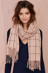 Nasty Gal Get In Line Cashmere Scarf