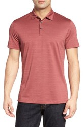 Robert Barakett Men's Walsh Polo Coral Reef