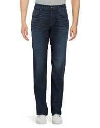 7 For All Mankind Brett Modern Bootcut Jeans Olympic Blue