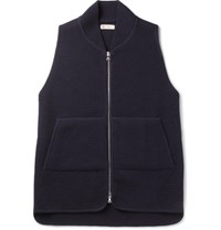 Connolly Merino Wool Gilet Navy
