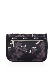 Le Sport Sac Everyday Cosmet Botanical Printed Pouch