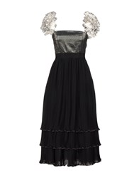 Daniele Carlotta 3 4 Length Dresses Black
