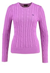 Polo Ralph Lauren Julianna Jumper Bright Lavender Purple