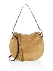 Jimmy Choo Artie Suede Shoulder Bag Hazel