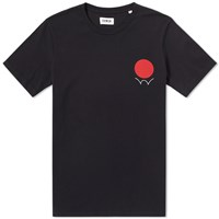 Edwin Red Dot Logo Tee Black