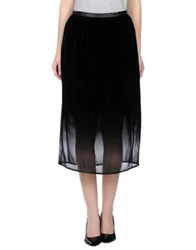 Antipodium 3 4 Length Skirts Black