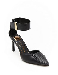 Dolce Vita Dorsey Leather Pumps Black