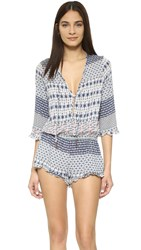 Eberjey Piece Work Rayne Beach Romper Multi