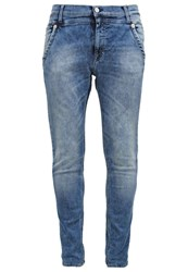 Replay Denice Relaxed Fit Jeans Bleached Denim
