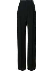 Givenchy Wide Leg Tailored Trousers Black
