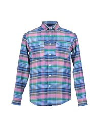 Julien David Shirts Shirts Men Light Purple