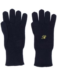 Raf Simons Heroes Embroidery Gloves 60