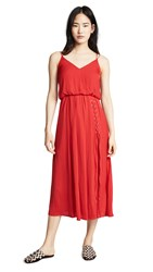 Edition10 Cami Dress Pomegranate Red